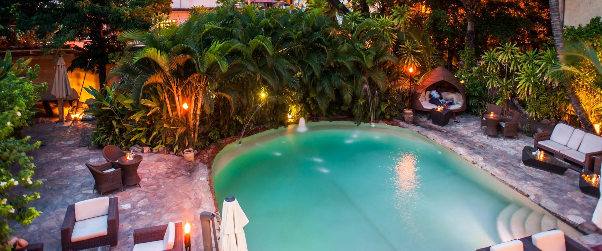 La villa boutique hotel hip africa for Boutique hotel uzuri villa